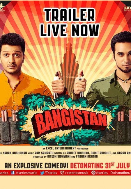 Bangistan 2015 Hindi 720p 1.3GB HDRip AAC ESub MKV